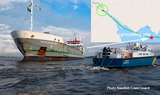 Dutch cargo ship grounding, Sweden – Maritime Bulletin